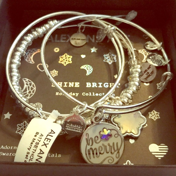 3415b312cd19 Alex and Ani Shine Bright Holiday Collection
